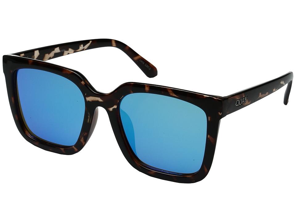QUAY AUSTRALIA - Genesis (Tortoise/Blue) Fashion Sunglasses