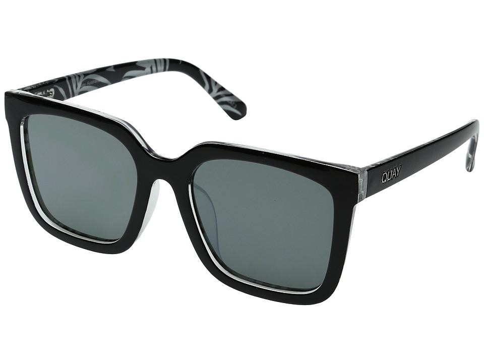 QUAY AUSTRALIA - Genesis (Black/Green) Fashion Sunglasses