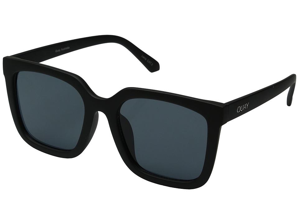 QUAY AUSTRALIA - Genesis (Black/Smoke) Fashion Sunglasses