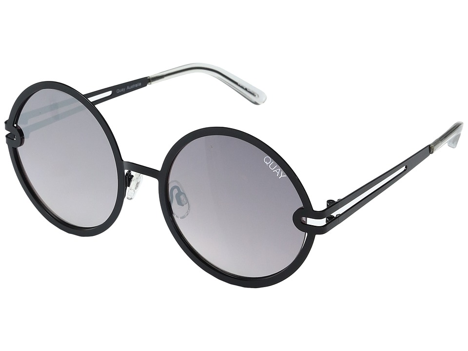 QUAY AUSTRALIA - Ukiyo (Black/Smoke) Fashion Sunglasses
