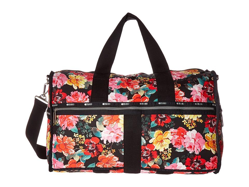 LeSportsac Luggage - CR Large Weekender (Romantics Black) Weekender/Overnight Luggage
