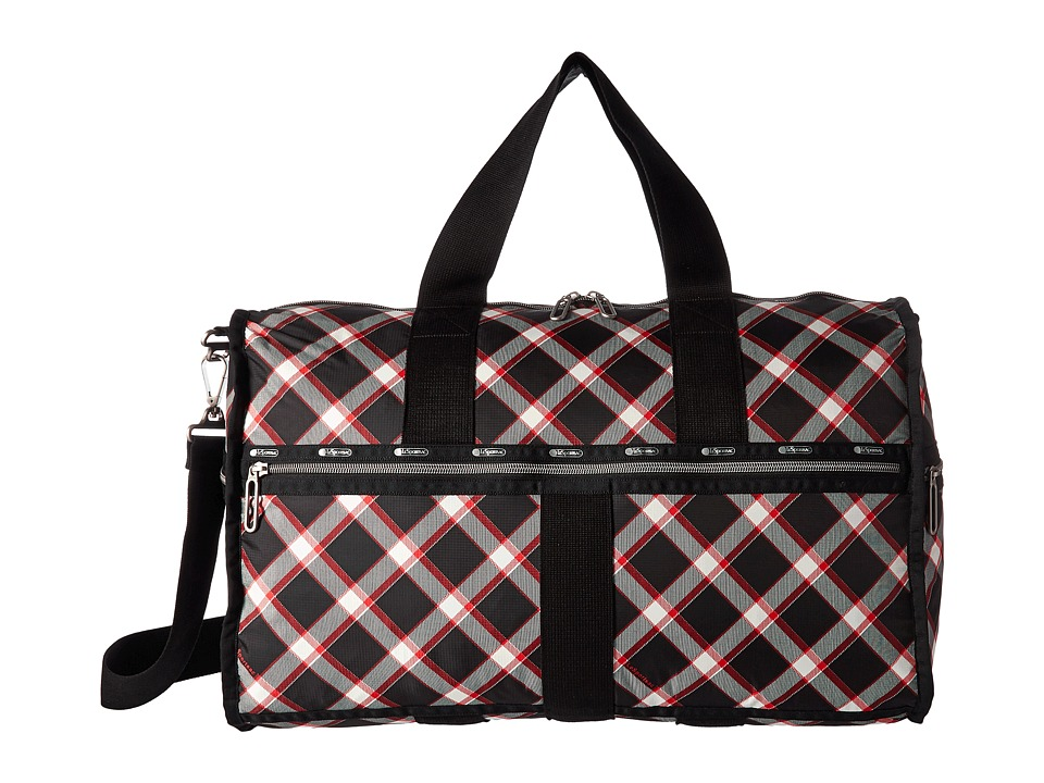 LeSportsac Luggage - CR Large Weekender (Party Plaid) Weekender/Overnight Luggage
