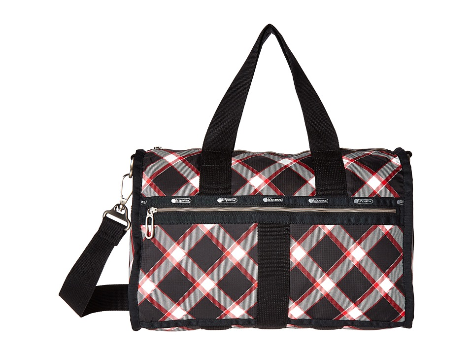 LeSportsac Luggage - CR Small Weekender (Party Plaid) Weekender/Overnight Luggage