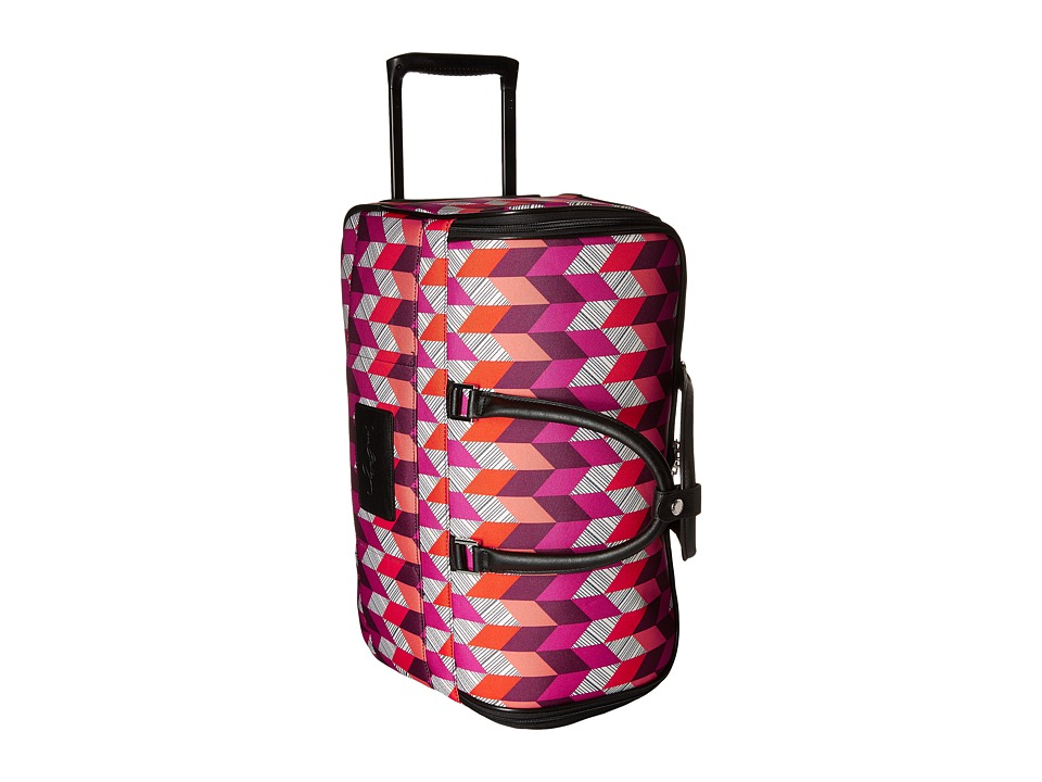 Vera Bradley Luggage - 22 Rolling Duffel (Bohemian Chevron) Carry on Luggage
