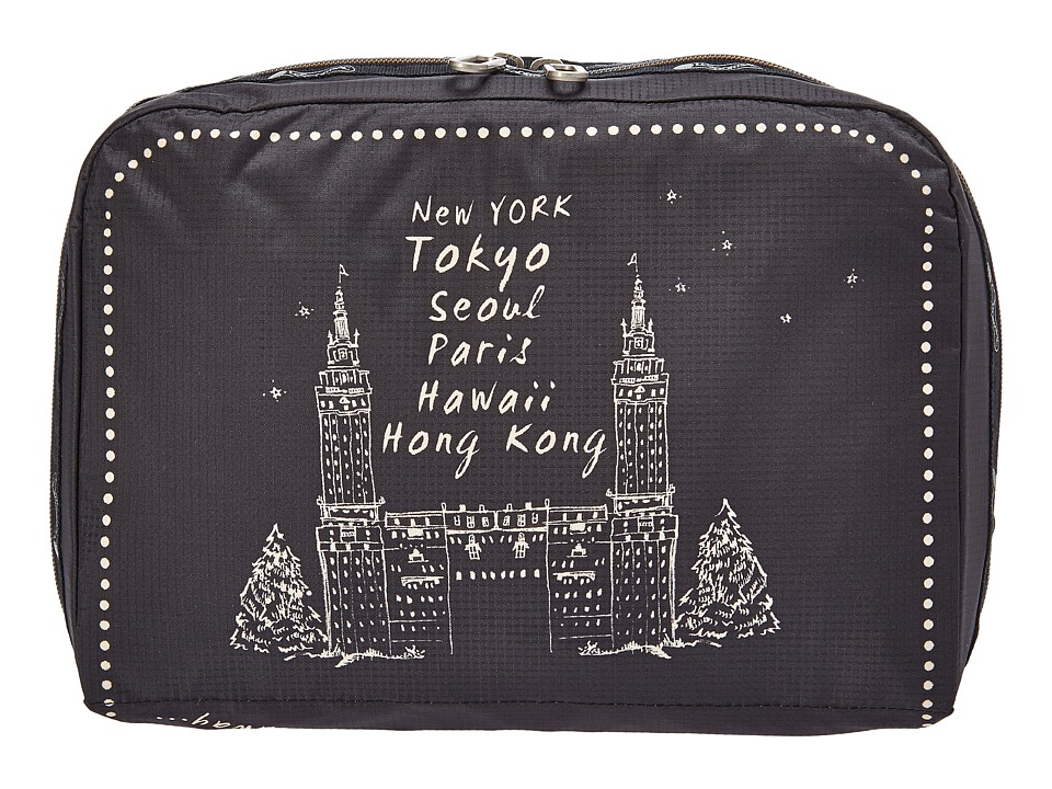 LeSportsac Luggage - XL Essential Cosmetic (Far Far Away) Cosmetic Case