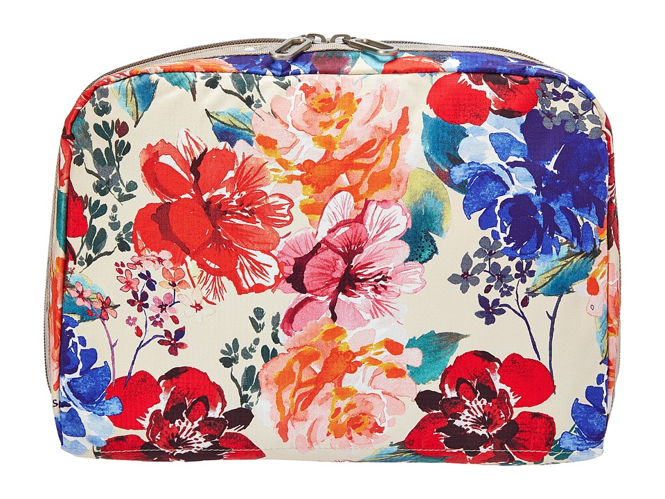 LeSportsac Luggage - XL Essential Cosmetic (Romantics Cream) Cosmetic Case