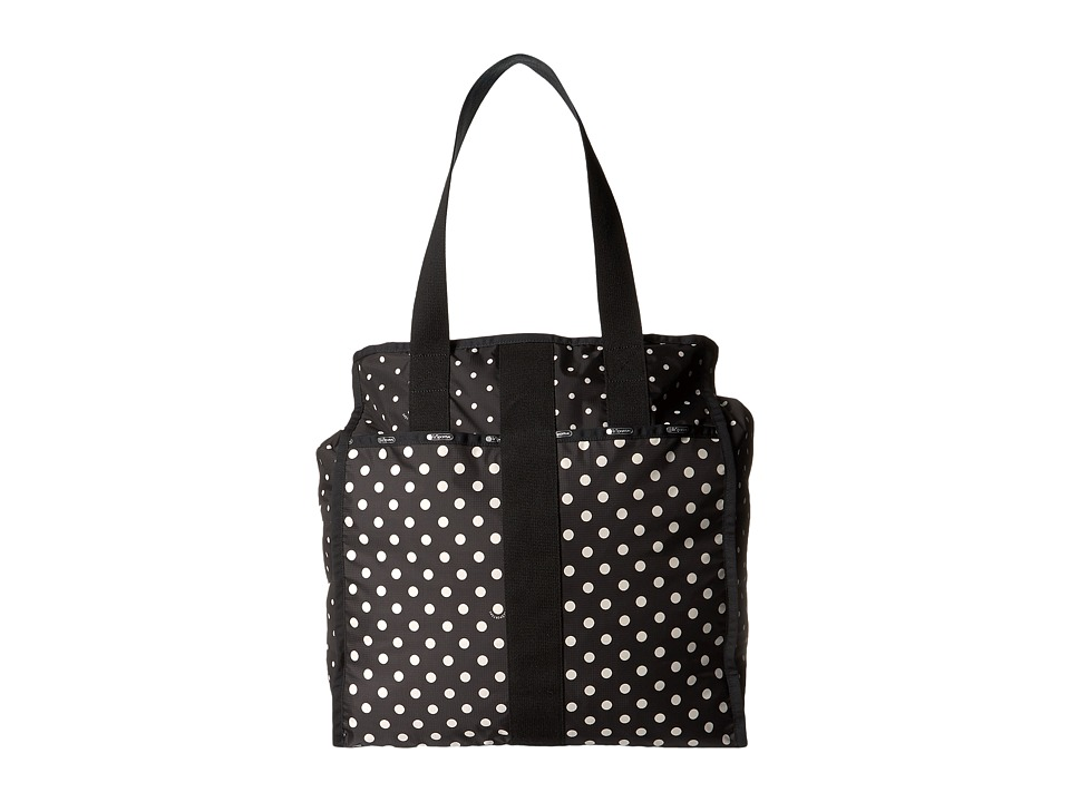 LeSportsac Luggage - Large City Tote (Sun Multi Black) Tote Handbags