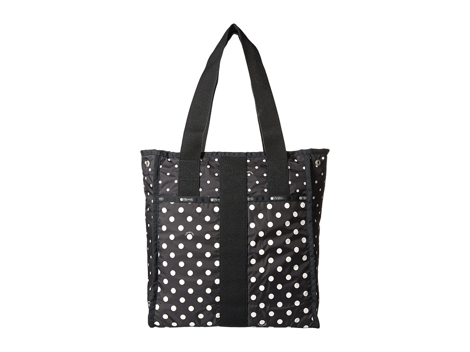 LeSportsac Luggage - City Tote (Sun Multi Black) Tote Handbags