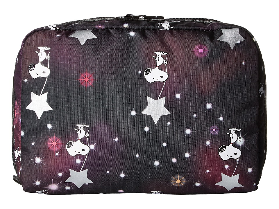 LeSportsac Luggage Extra Large Rectangular Cosmetic (Snoopy in The Stars) Cosmetic Case