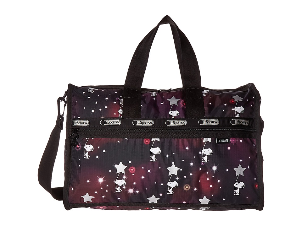 LeSportsac Luggage - Medium Weekender (Snoopy in The Stars) Duffel Bags