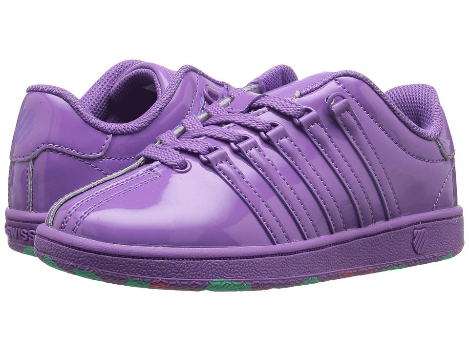 K-Swiss Kids - Classic VN (Little Kid) (Bellflower) Girl's Shoes