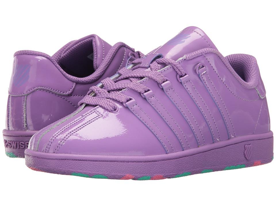 K-Swiss Kids - Classic VN (Big Kid) (Bellflower) Girl's Shoes