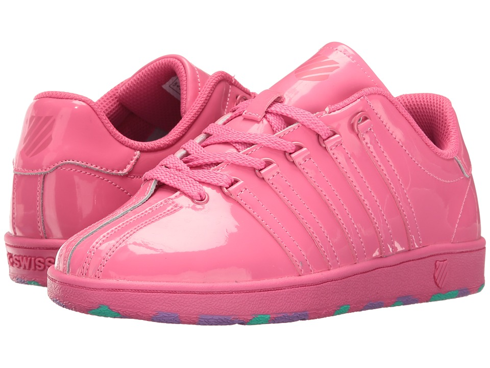K-Swiss Kids - Classic VN (Big Kid) (Pinkberry) Girl's Shoes