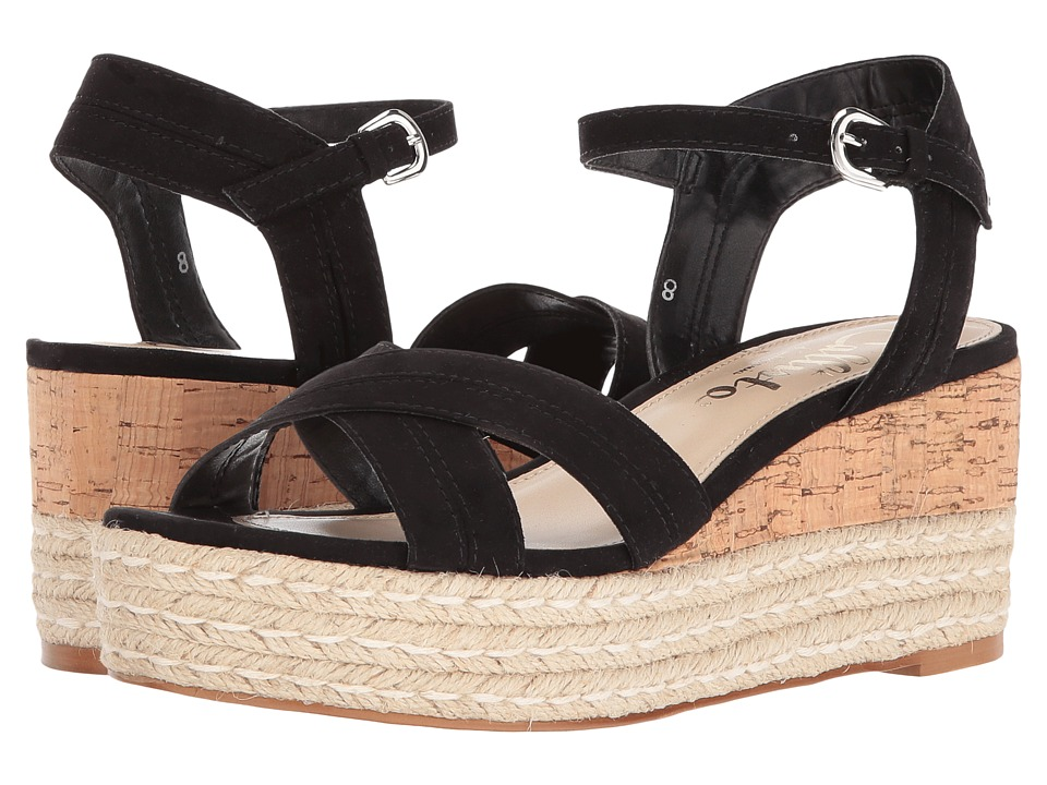 Callisto of California Ofelia (Black Suede) Women