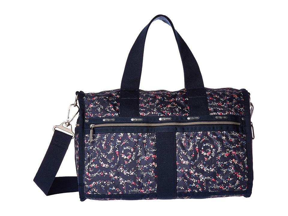 LeSportsac Luggage - CR Small Weekender (Fairy Floral Blue) Weekender/Overnight Luggage