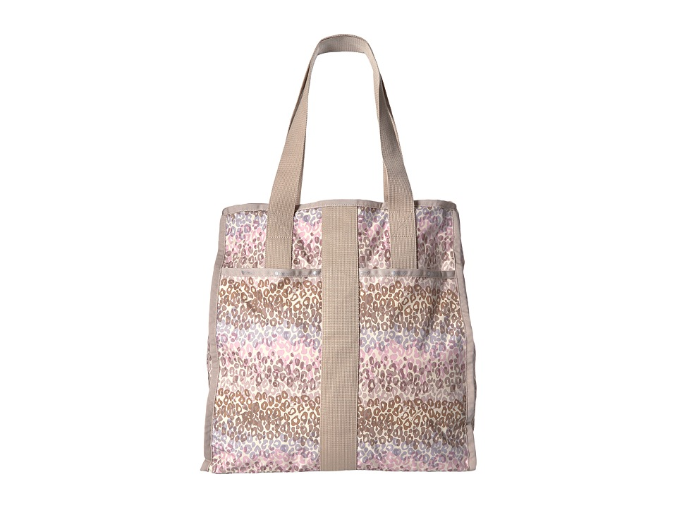 LeSportsac Luggage - Large City Tote (Cheetah Cascade) Tote Handbags