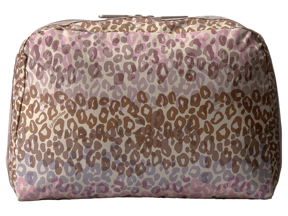 LeSportsac Luggage - XL Essential Cosmetic (Cheetah Cascade) Cosmetic Case