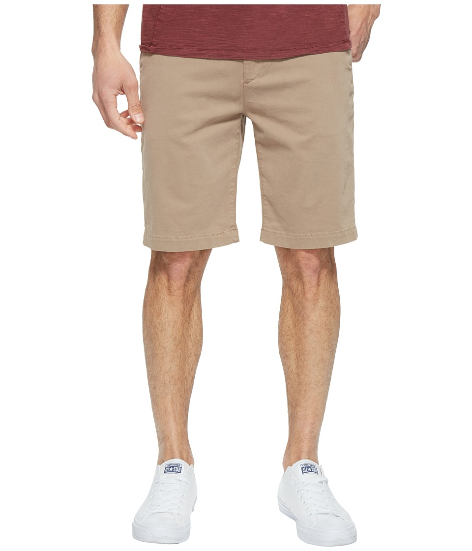 7 For All Mankind - Luxe Performance Sateen Chino Shorts (Light Khaki) Men's Shorts