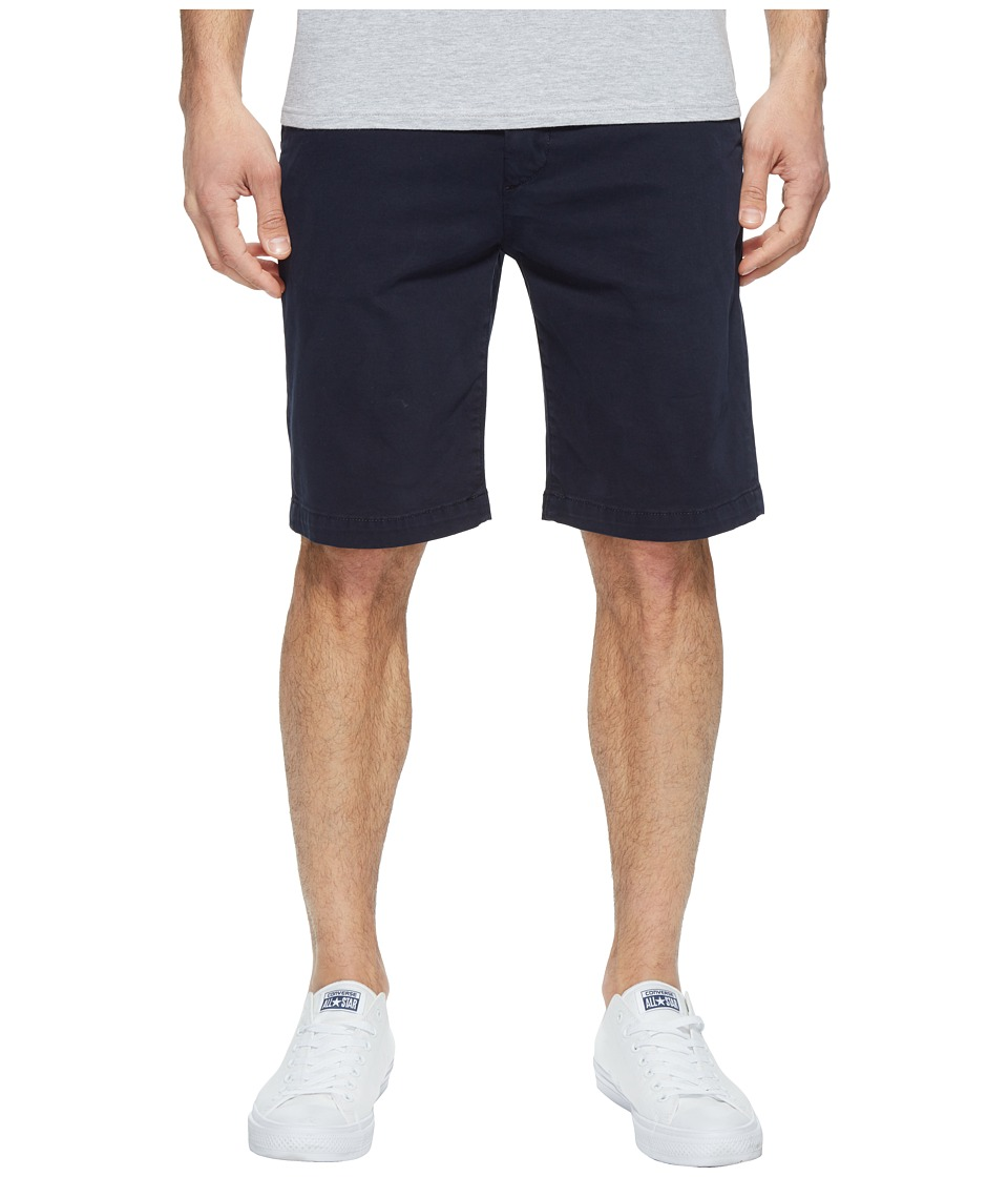 7 For All Mankind - Luxe Performance Sateen Chino Shorts (Midnight) Men's Shorts