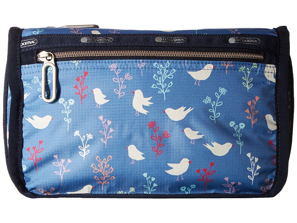 LeSportsac - Everyday Cosmetic Case (Song Birds Blue) Cosmetic Case