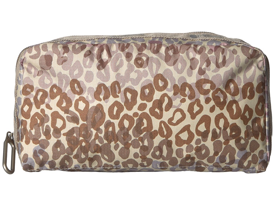LeSportsac Essential Cosmetic Case (Cheetah Cascade) Cosmetic Case