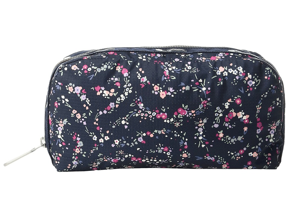 LeSportsac - Essential Cosmetic Case (Fairy Floral Blue) Cosmetic Case