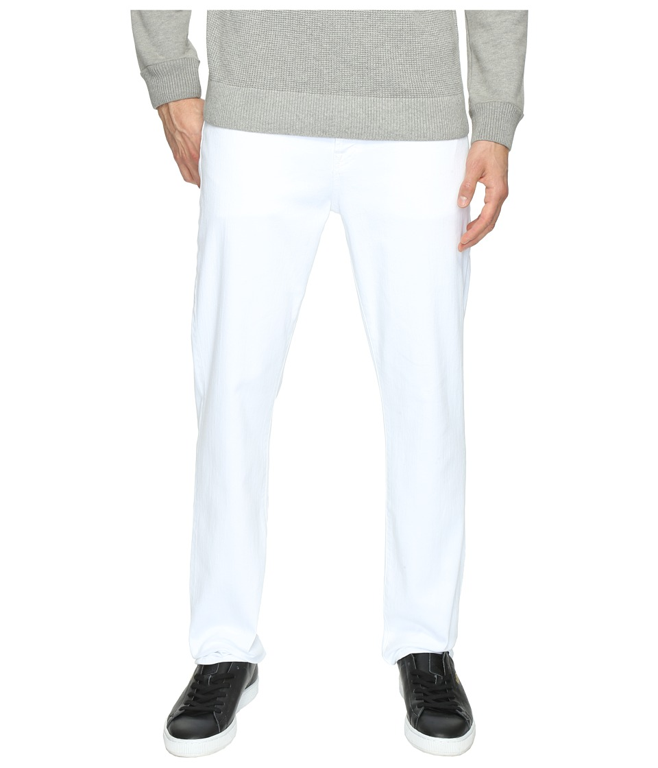 7 For All Mankind - Luxe Performance Slimmy w/ Clean Pocket in White (White) Men's Jeans
