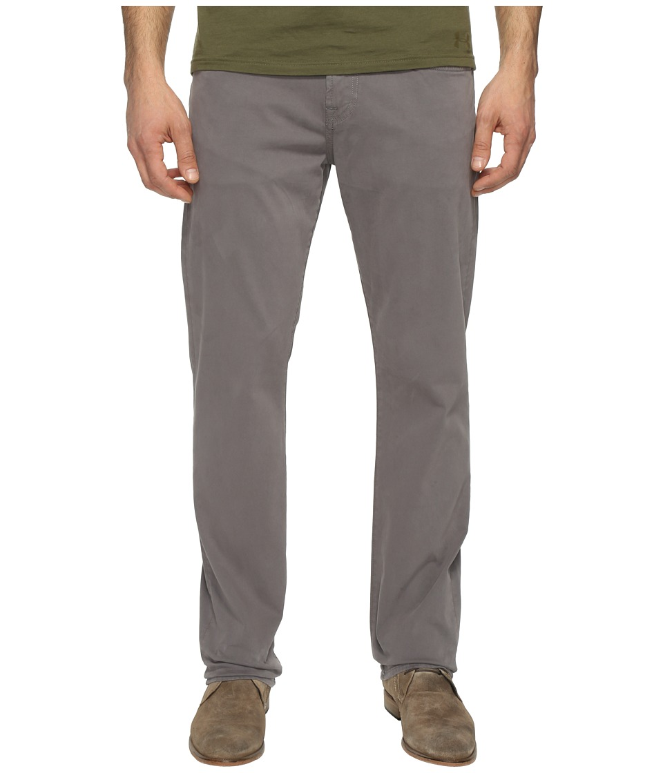 7 For All Mankind Luxe Performance Straight Sateen in Shaded Stone (Shaded Stone) Men