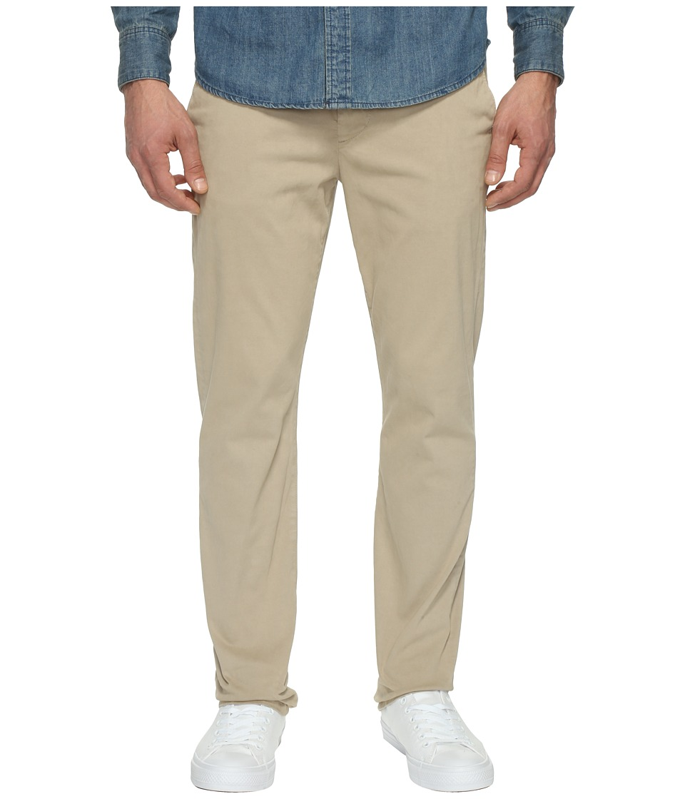 7 For All Mankind - Luxe Performance Sateen Chino in Light Khaki (Light Khaki) Men's Casual Pants