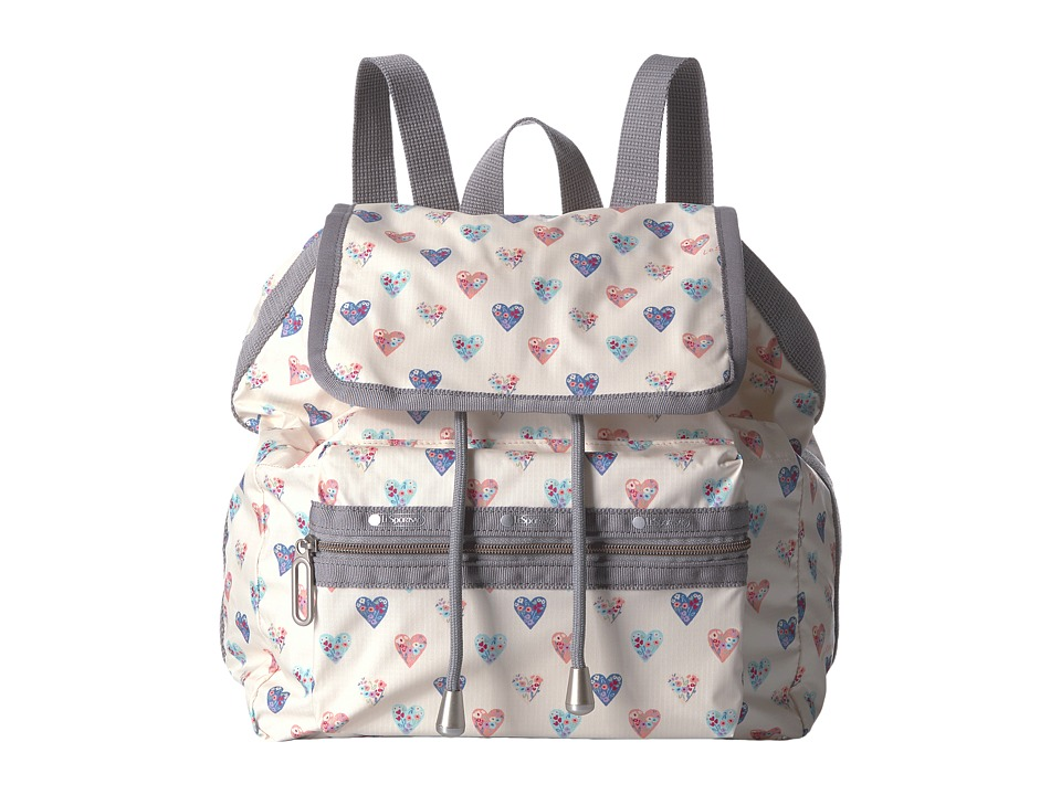 LeSportsac - Mini Voyager (Heartfelt) Handbags