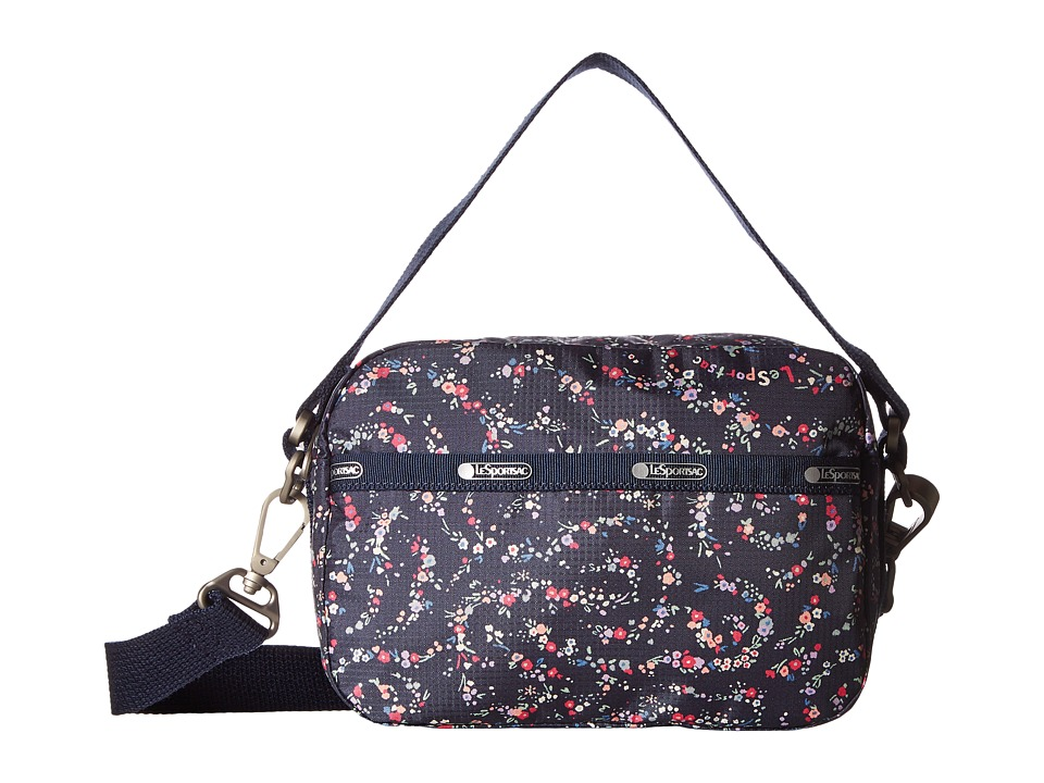 LeSportsac - Cafe Convertible (Fairy Floral Blue) Convertible Handbags