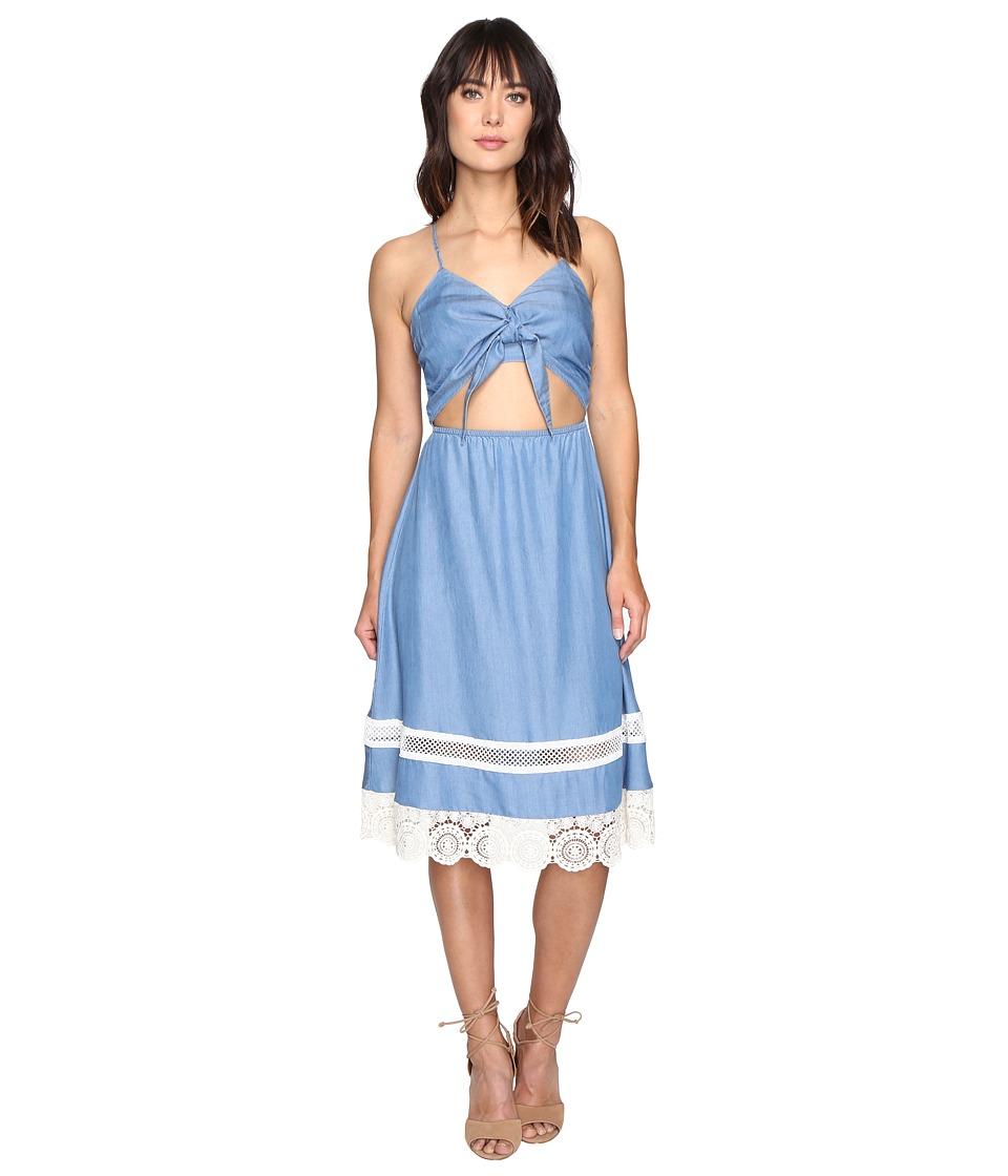Lovers + Friends Saffron Dress (Medium Wash) Women