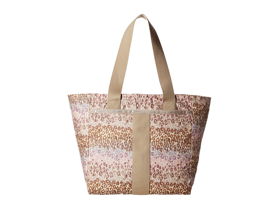 LeSportsac - Everyday Tote (Cheetah Cascade) Tote Handbags