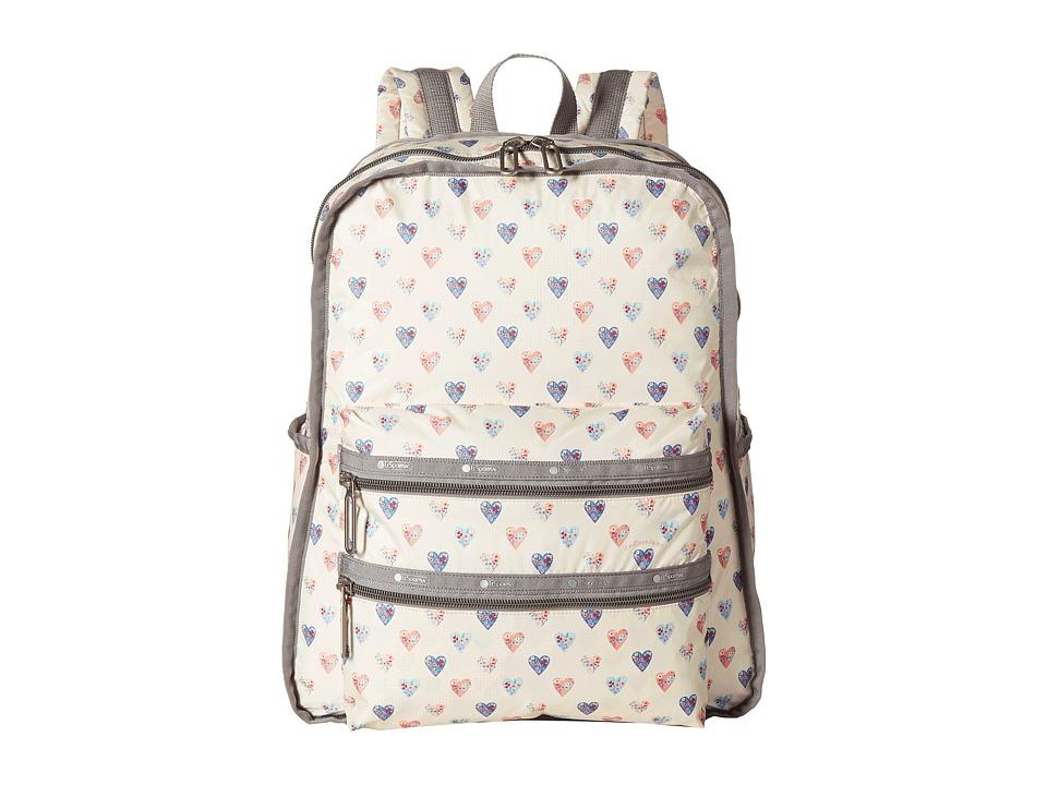 LeSportsac - Functional Backpack (Heartfelt) Backpack Bags