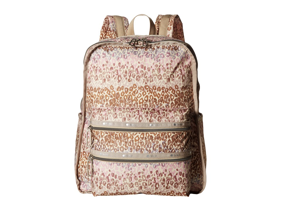 LeSportsac - Functional Backpack (Cheetah Cascade) Backpack Bags