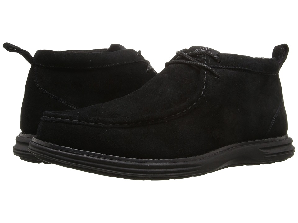Stacy Adams - Astro (Black Suede) Men's Lace Up Moc Toe Shoes