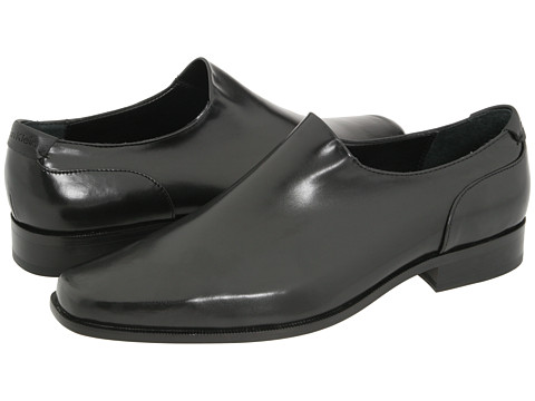 Calvin Klein - Malcolm (Black Microfiber Stretch) Men's Slip-on Dress Shoes