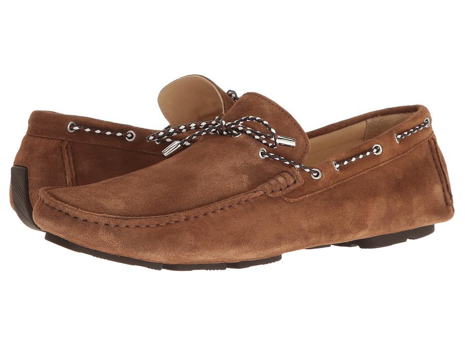 BUGATCHI - Monte Carlo Moccasin (Rover Scuro) Men's Shoes