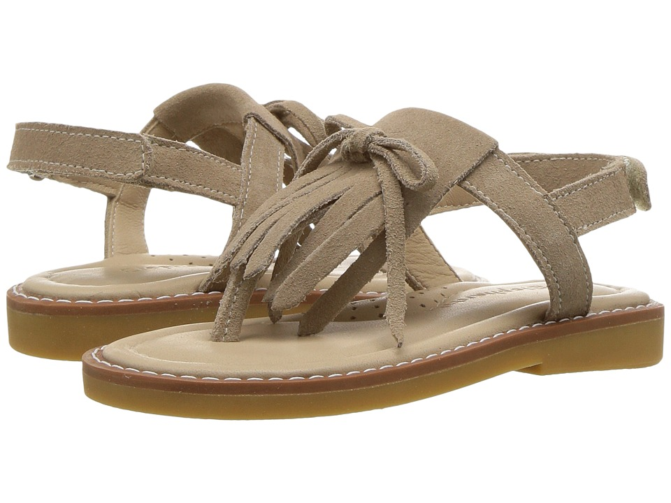 Elephantito - Fringes Sandal (Toddler/Little Kid/Big Kid) (Sand) Girls Shoes