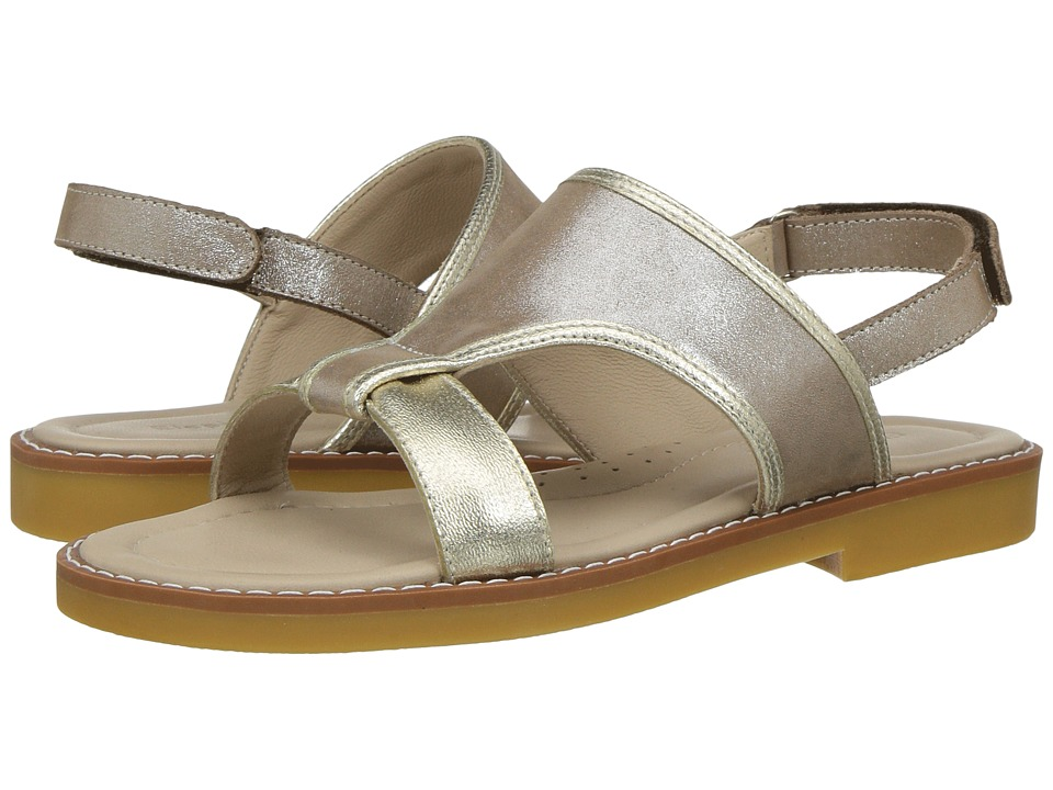 Elephantito - Claudia Sandal (Toddler/Little Kid/Big Kid) (Gold) Girls Shoes