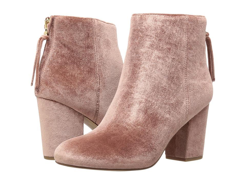 Steve Madden - Cynthiav (Pink Velvet) Women's Boots