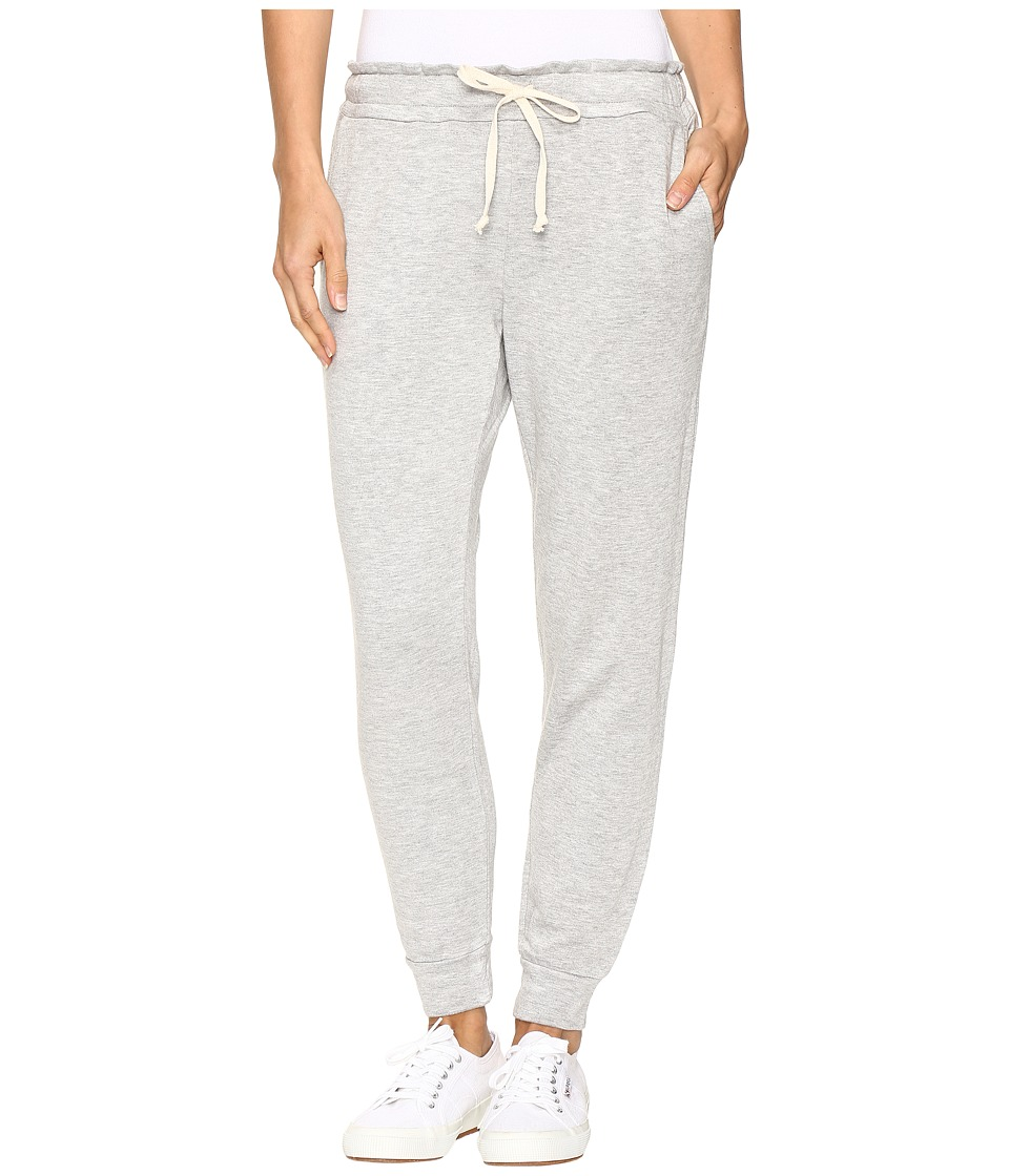 Splendid French Terry Jogger (Heather Grey) Women's Casual Pants