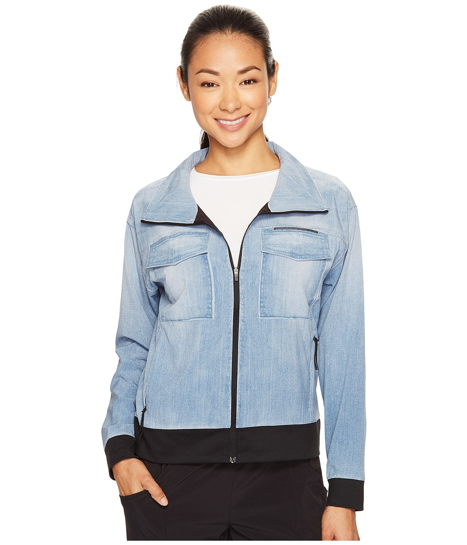 Lucy - Indigo Trucker Jacket (Light Indigo) Women's Coat