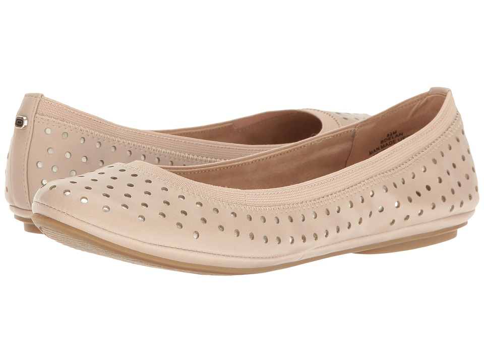 Bandolino - Elan (Light Natural Multi Super Nappa Pu/Metallic Nappa Pu) Women's Sandals