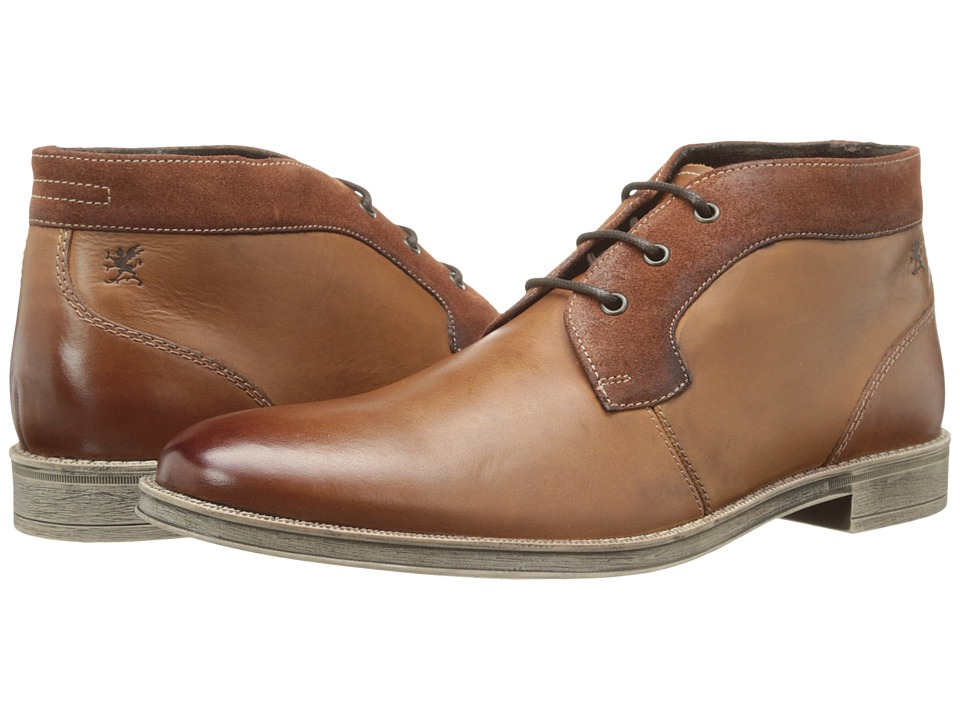 Stacy Adams - Cagney (Cognac) Men's Plain Toe Shoes