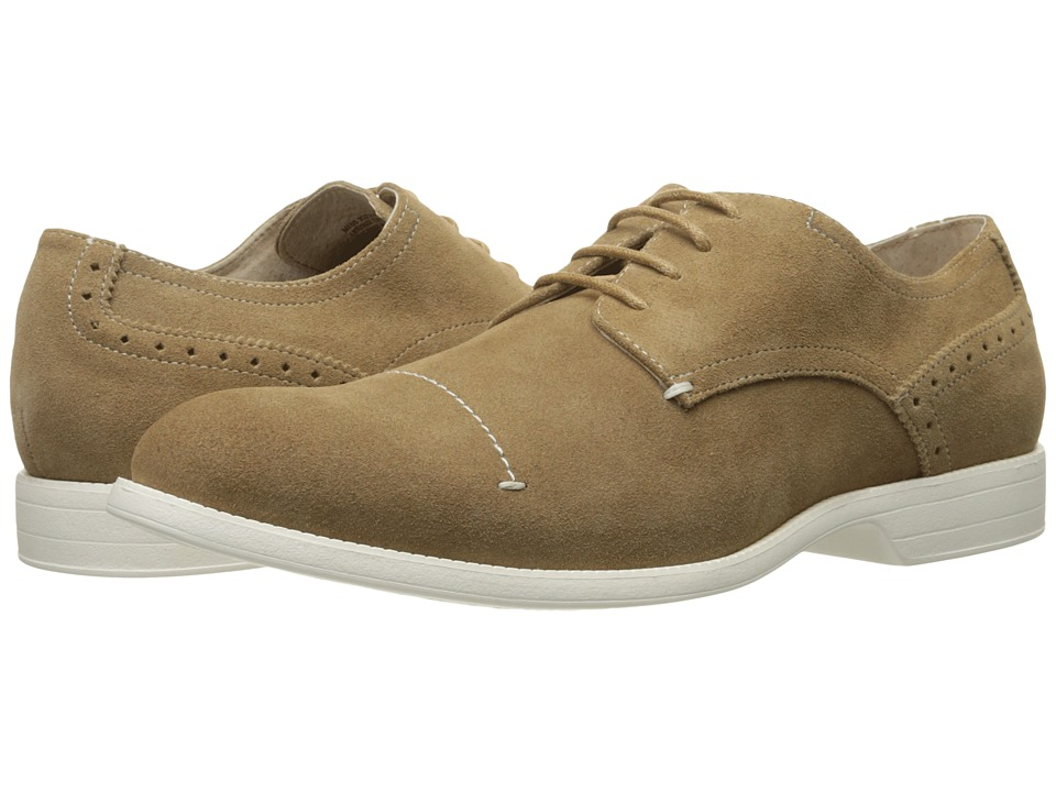Stacy Adams - Wilcox (Sand Suede) Men's Lace up casual Shoes