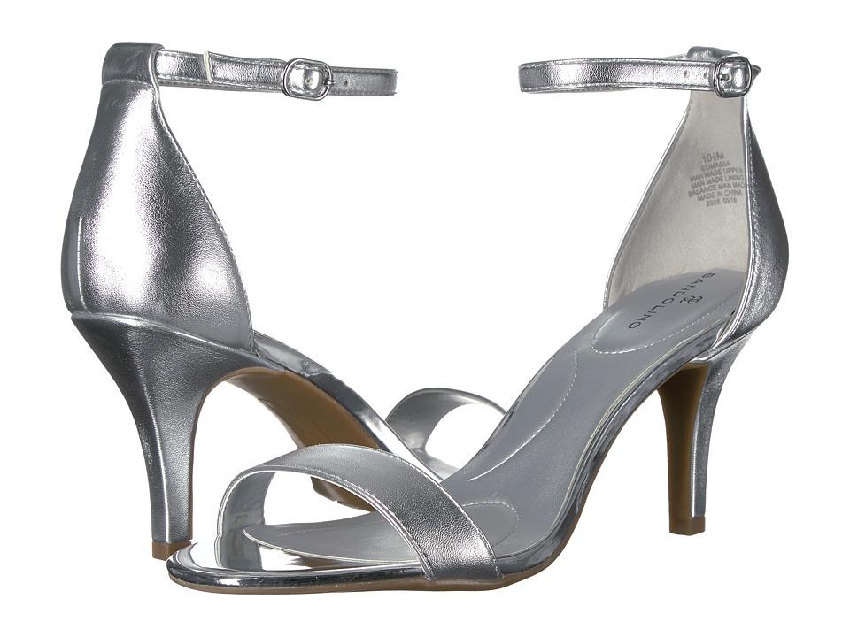 Bandolino Madia (Silver Nappa Pu/Specchio) High Heels