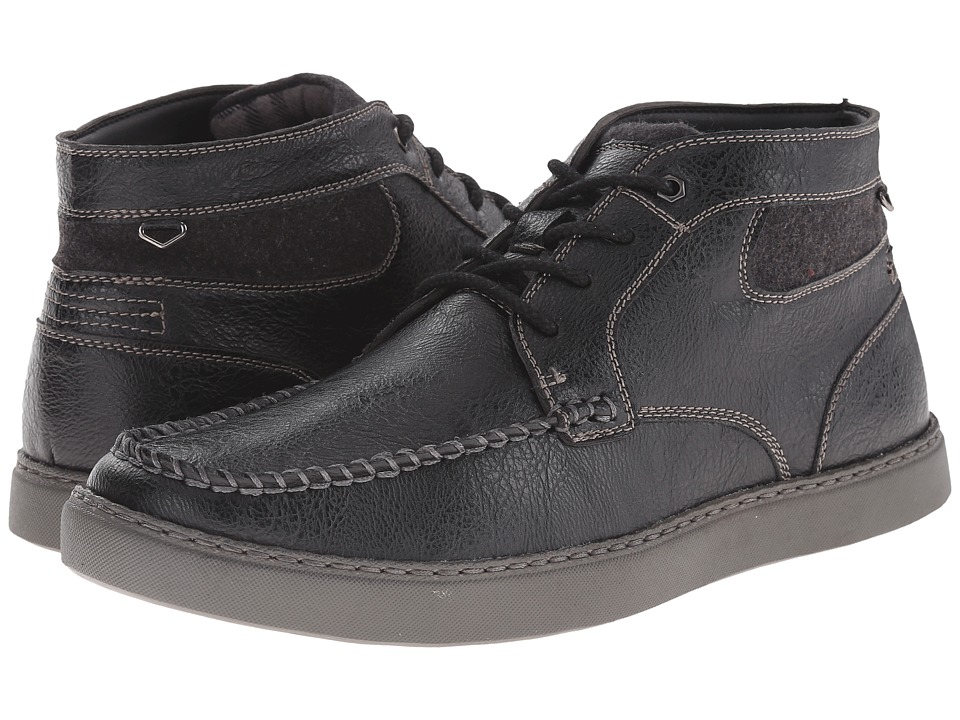 Stacy Adams - Trickster (Black) Men's Lace Up Moc Toe Shoes