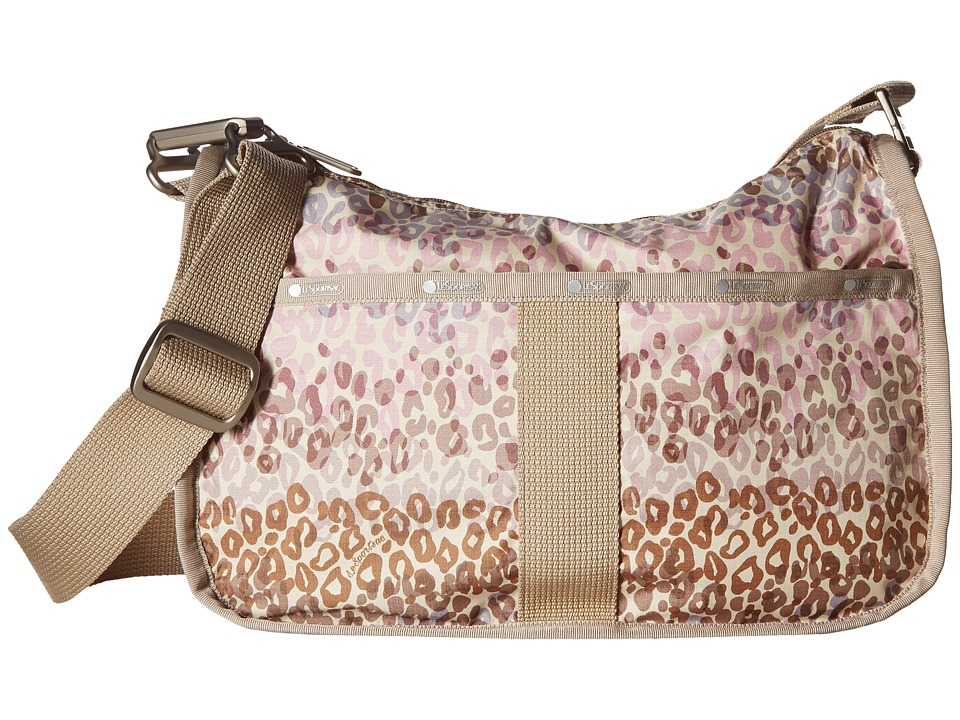 LeSportsac - Essential Hobo (Cheetah Cascade) Hobo Handbags