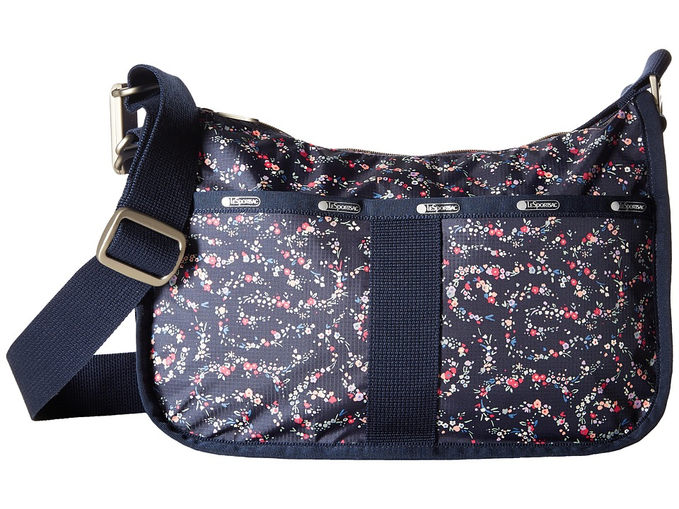 LeSportsac - Essential Hobo (Fairy Floral Blue) Hobo Handbags
